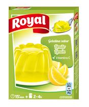 Gelatina limão