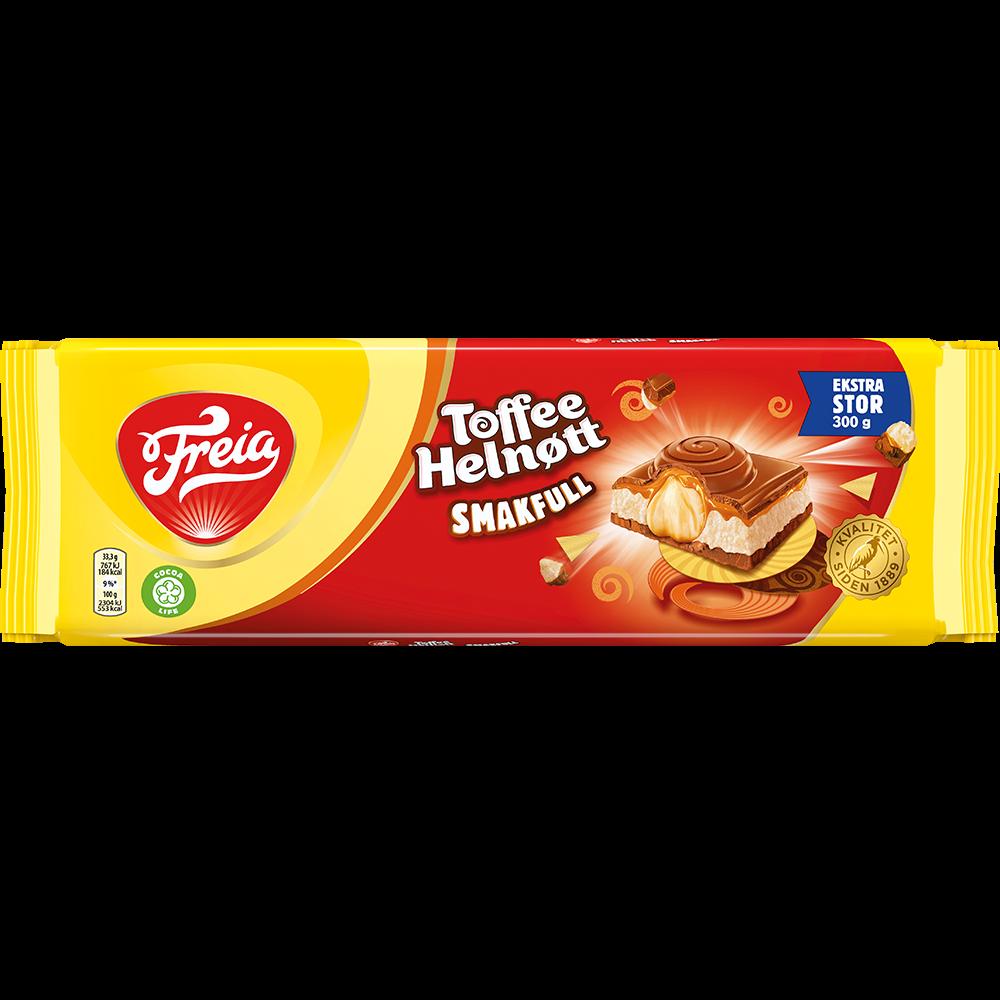 Freia Toffee Helnøtt Smakfull (300g)