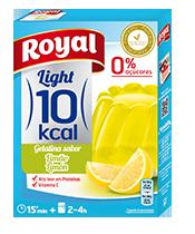 Gelatina limão 10 kcal