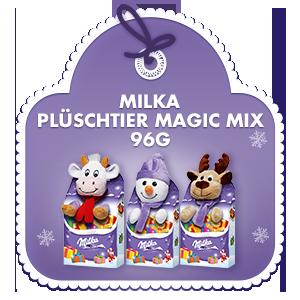 Milka Magic Mix Plüschtier 96g