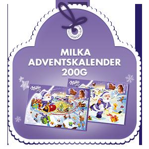 Milka Adventkalender 200g