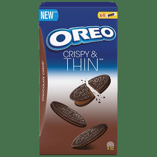 OREO Crispy & Thin choco 192g