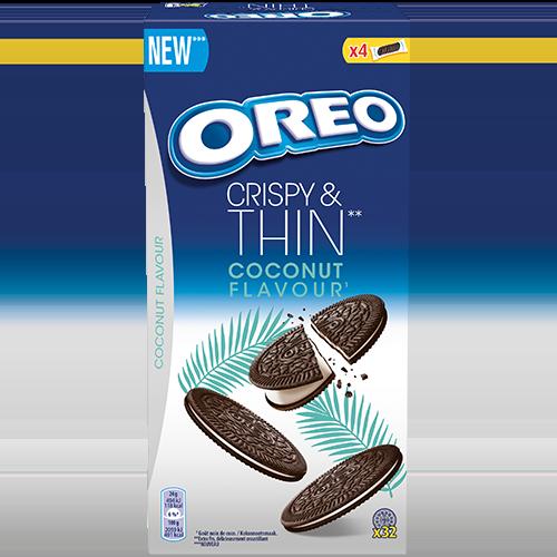OREO Crispy & Thin Coconut 192g