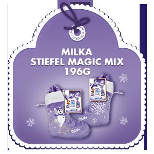 Milka Magic Mix Stiefel 196g