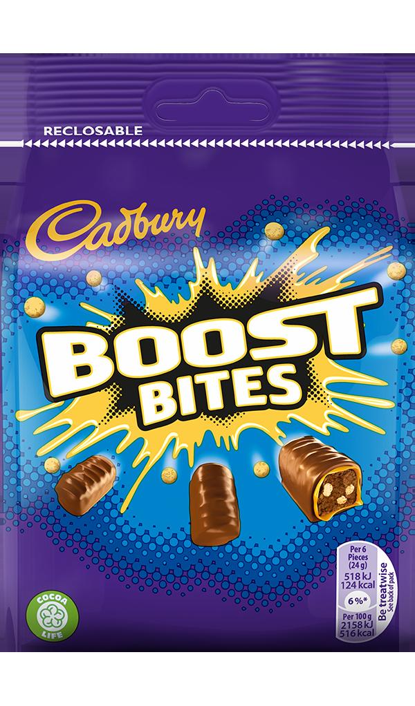 Cadbury Boost Bites Cadburycouk