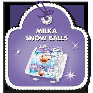 MILKA SNOW BALLS 112g