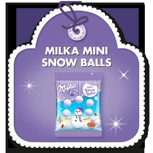 MILKA MINI SNOW BALLS 100g