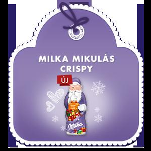 Milka Mikulás Crispy 50g