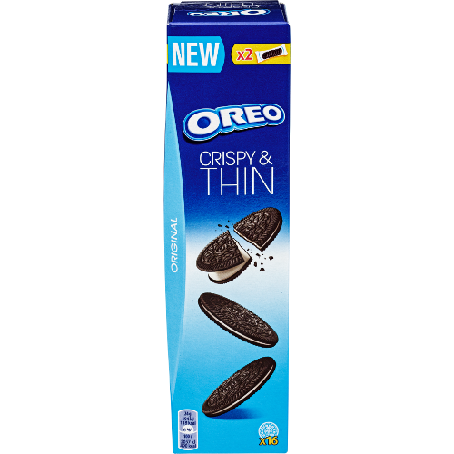 OREO Crispy & Thin vanilla 48g