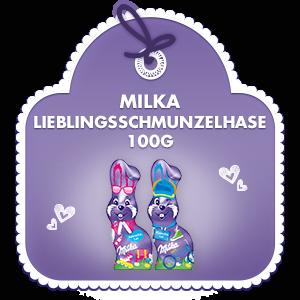 Milka Mein Lieblingsschmunzelhase 100g