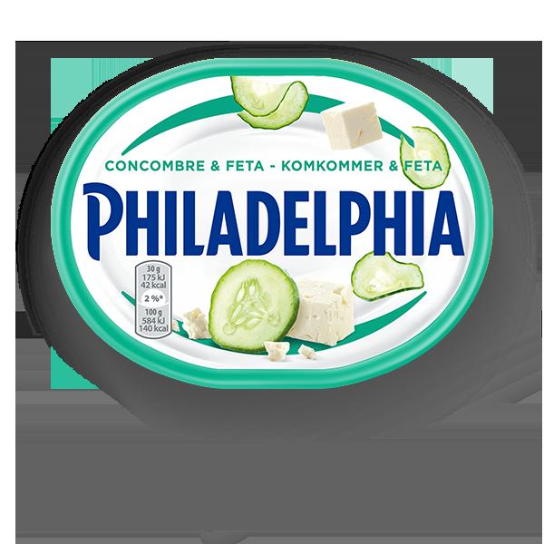 philadelphia concombre-et-feta
