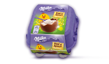 MILKA EGG'N'SPOON MILK CREME 136 G