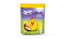 MILKA BONBONS MILK CREME WITH HAZELNUT PIECES 86g