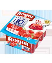 Gelatina morango 10 kcal (pack)