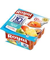 Gelatina frutas tropicais  10 kcal (pack)