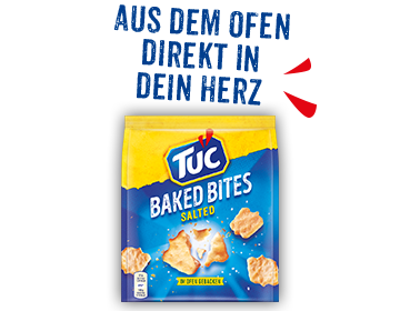 TUC - Baked Bites Salted
