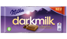 MILKA DARK MILK 85G