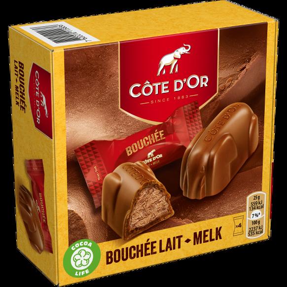BOUCHÉE Melk (4 stuks)