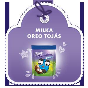 Milka Oreo tojás 86g