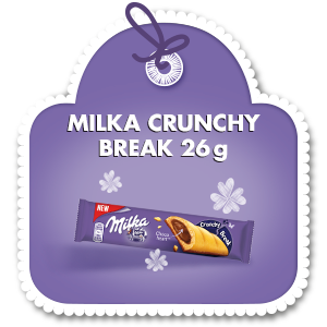MILKA CRUNCHY BREAK 26 G