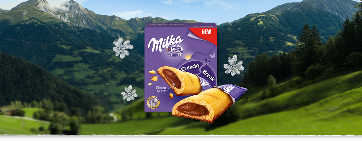 MILKA CRUNCHY BREAK 130 G