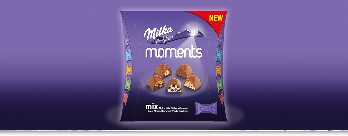 MILKA MOMENTS MIX 97 g