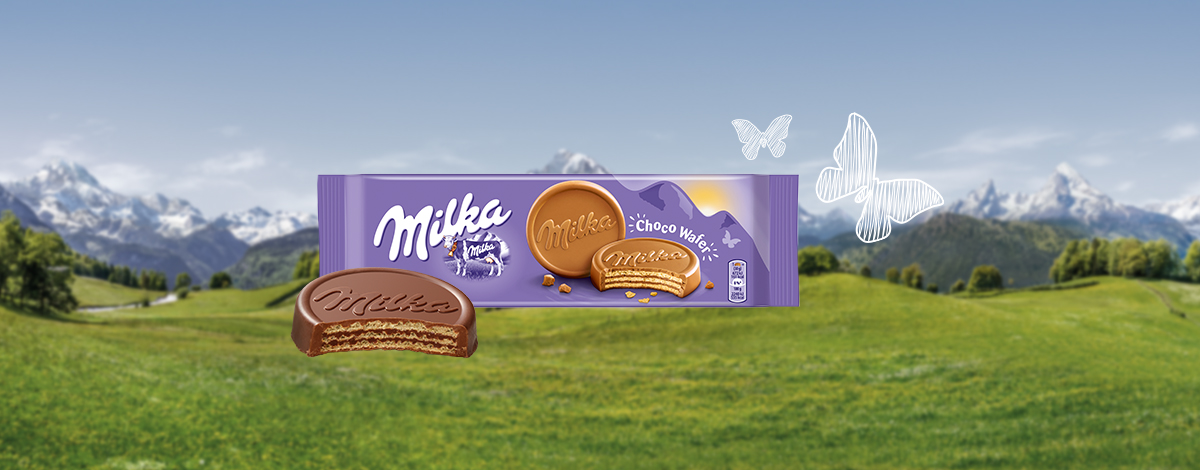 MILKA CHOCOWAFER 150G