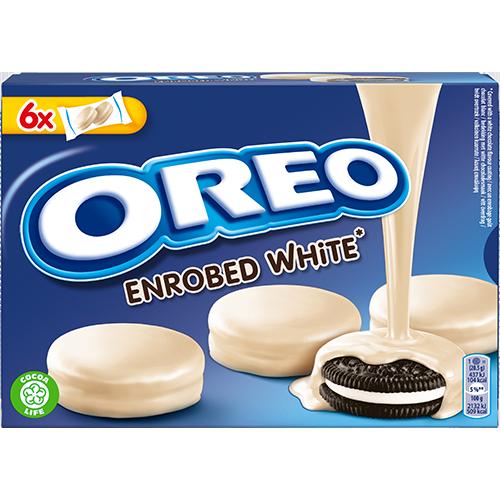 OREO - Enrobed White Choco 246g