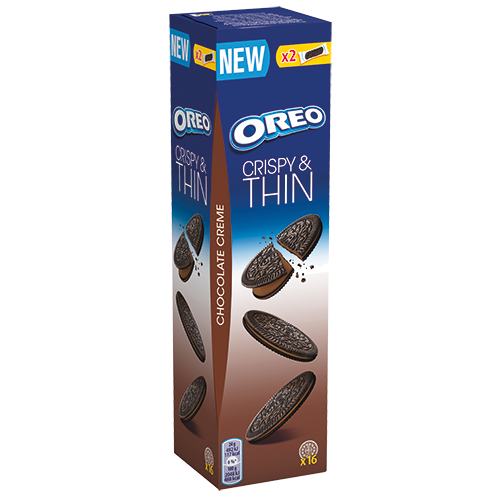 OREO - Crispy&Thin Choco 96g
