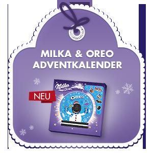 Milka & Oreo Adventkalender 286g
