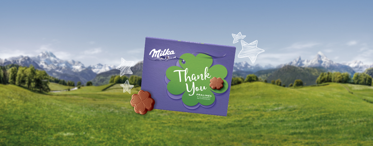 THANK YOU MILKA 110G