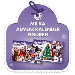 Milka Adventskalender Figuren 200g