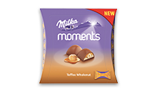Milka Moments Toffee Wholenut 97g