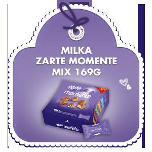 Milka zarte Momente Mix 169g