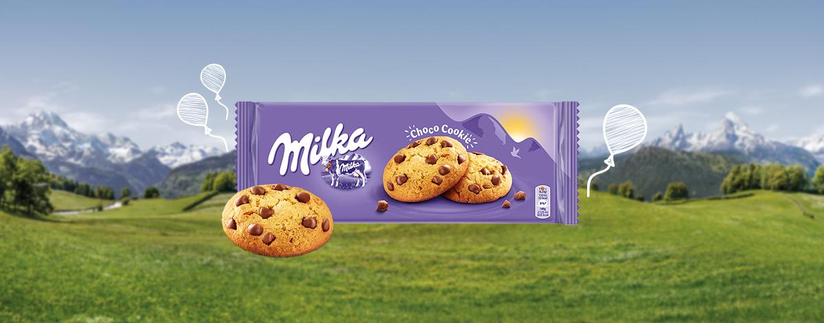 MILKA CHOCOCOOKIES 168G