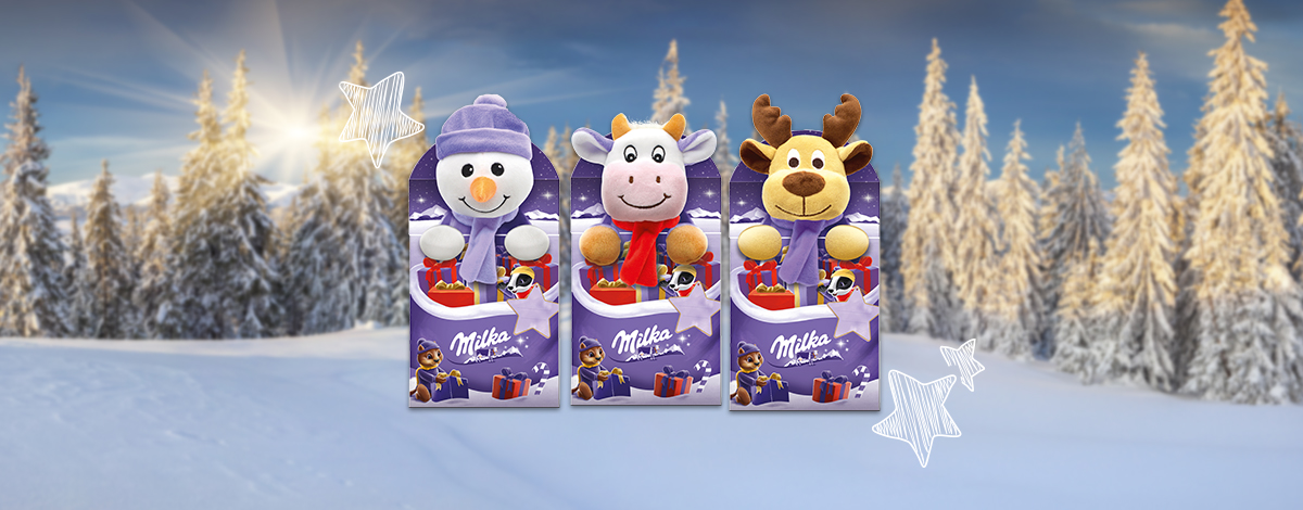 Milka Magic Mix Plüssfigura 96 g