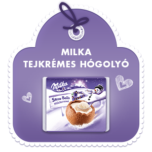 Milka Tejkrémes hógolyó 112G