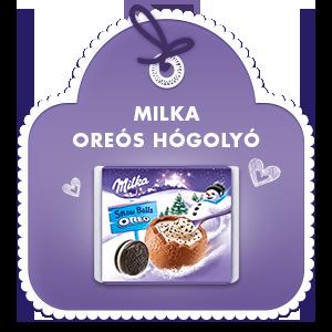 Milka Oreós Hógolyó 112 g