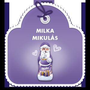 Milka Mikulás 15g