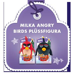 Milka Angry Birds Plüssfigura 83g