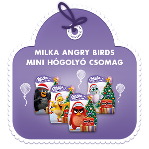 Milka Angry Birds Mini Hógolyó csomag