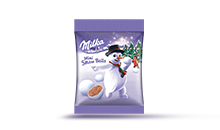 MILKA MINI SNOW BALLS 100G