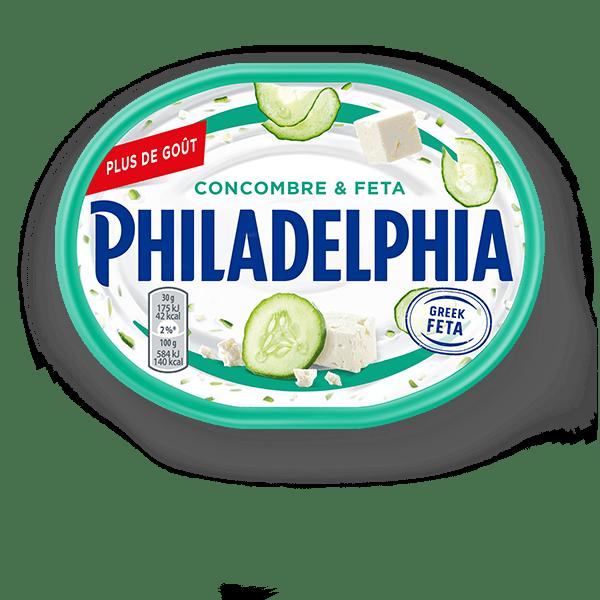 philadelphia concombre-et-feta-185g