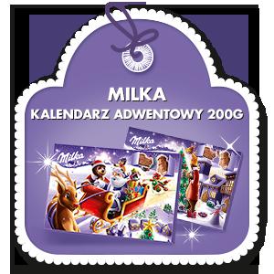 MILKA KALENDARZ ADWENTOWY 200G