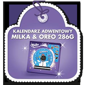 KALENDARZ ADWENTOWY MILKA & OREO 286G