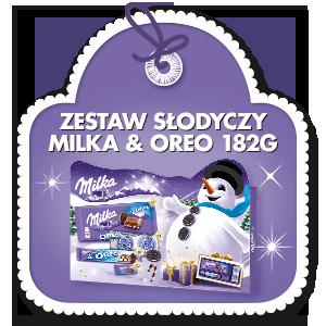 ZESTAW SŁODYCZY MILKA & OREO 182G