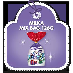 MILKA MIX BAG 126G