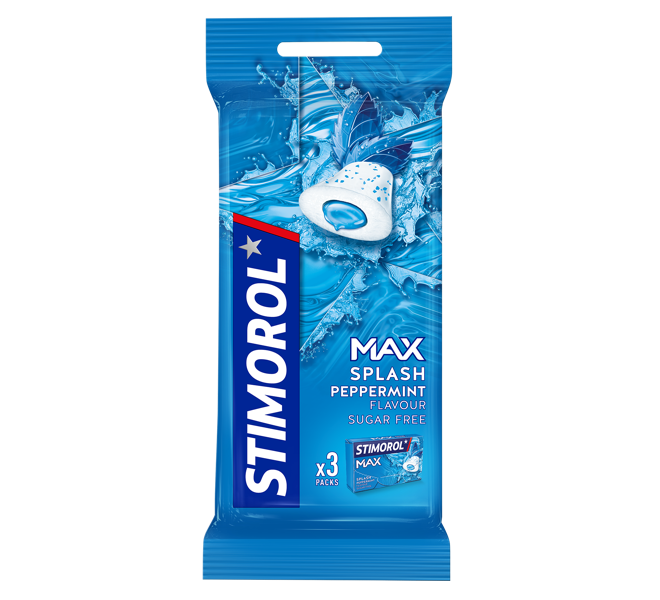 Stimorol Max Splash Peppermint