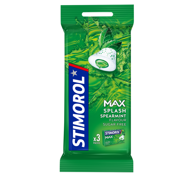 Stimorol Max Splash Spearmint