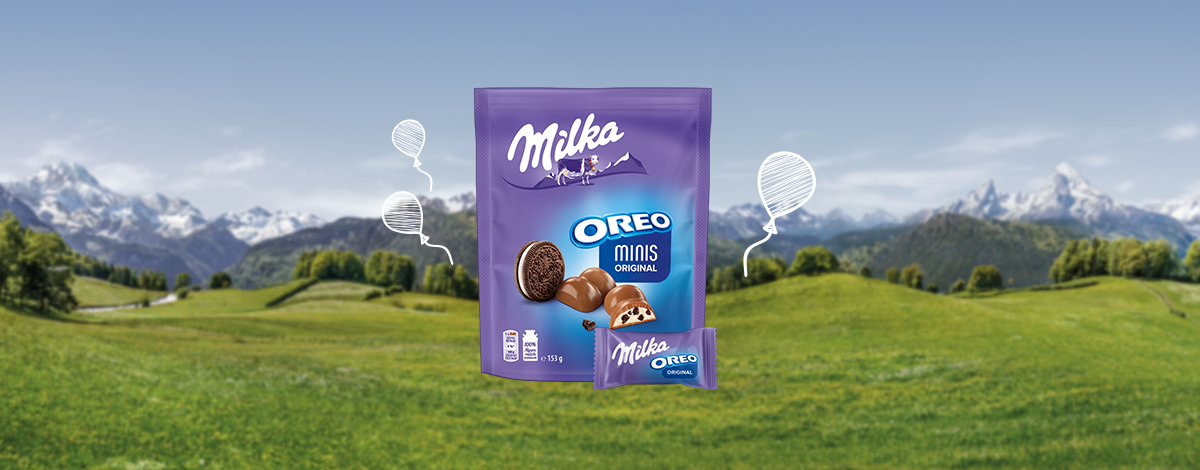 Milka Oreo Minis Original 153g